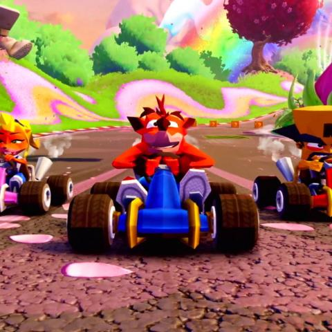 crash nitro racing fueled