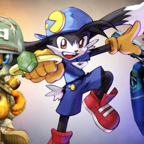 Heroes de videojuego olvidados - Joanna Dark Klonoa  Conker