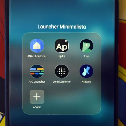 Launcher minimalista Android