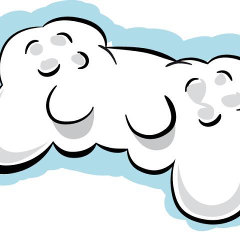 Jugando en las nubes