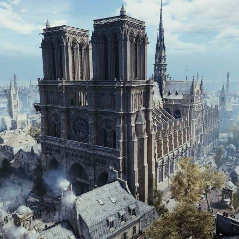Assasin's Creed Unity Notre Dame