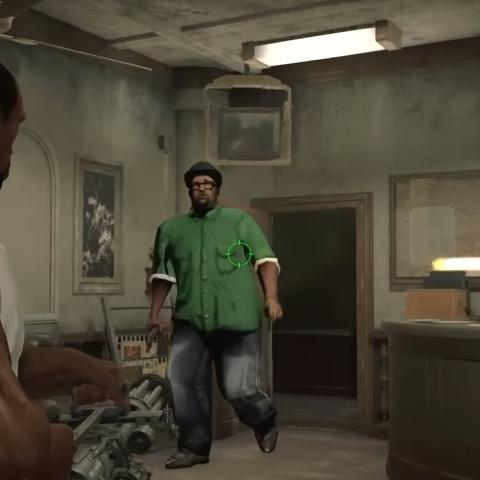 CJ y Big Smoke en Resident Evil 2 Remake