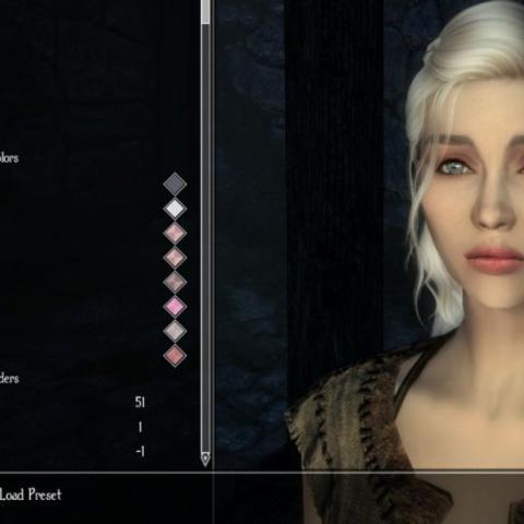 Daenerys en The Elder Scrolls Skyrim