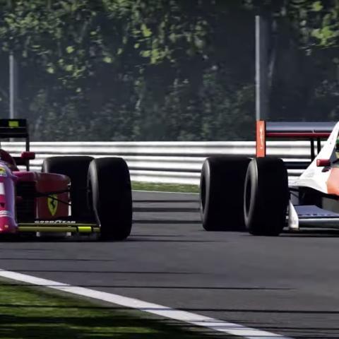 F1 2019 Senna y Prost