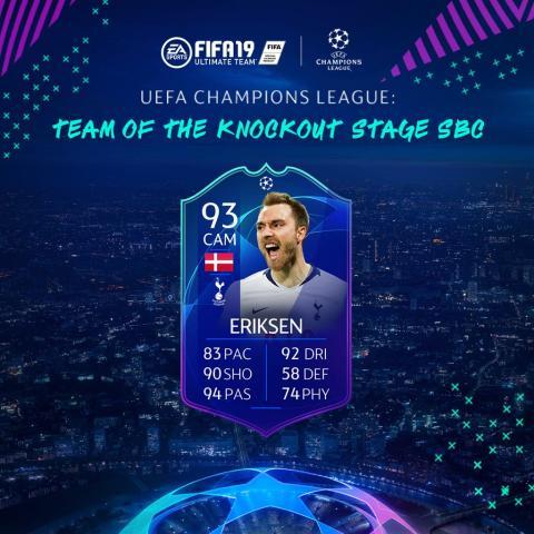 Fifa 19 Eriksen SBC