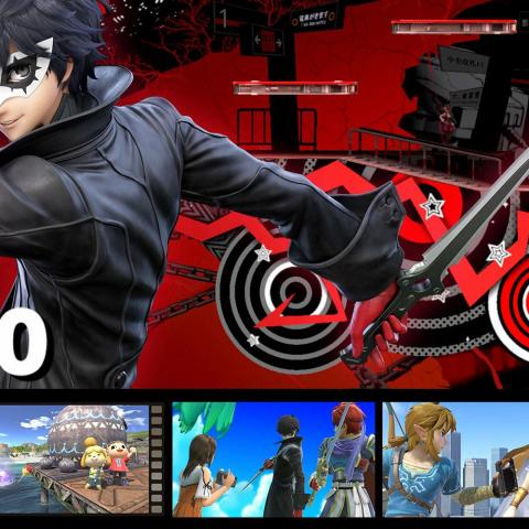 Joker de Persona 5 en Super Smash Bros Ultimate