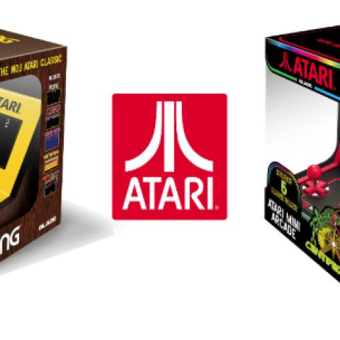 Máquinas arcade mini de Atari