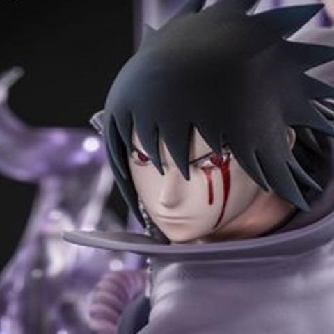 Naruto - Así es la espectacular figura de Sasuke con Susanoo