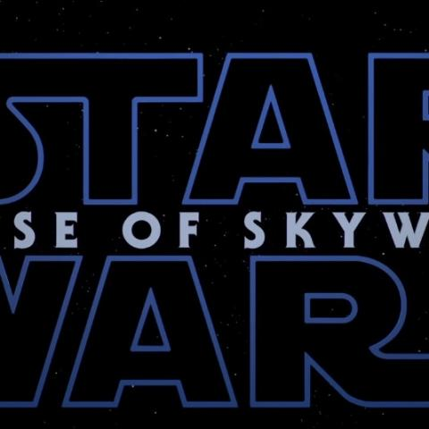 <div>Star Wars, Episodio IX, The Rise of Skywalker</div>