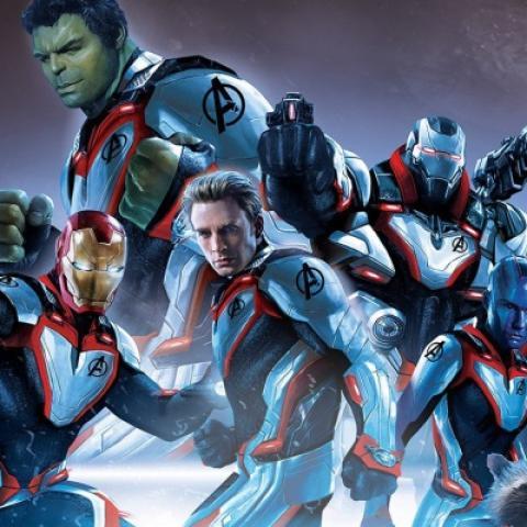 Vengadores Endgame - Trajes reino cuántico
