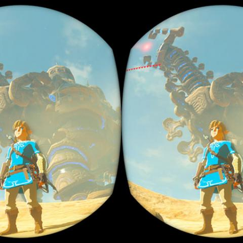 Zelda Breath Of The Wild VR Labo
