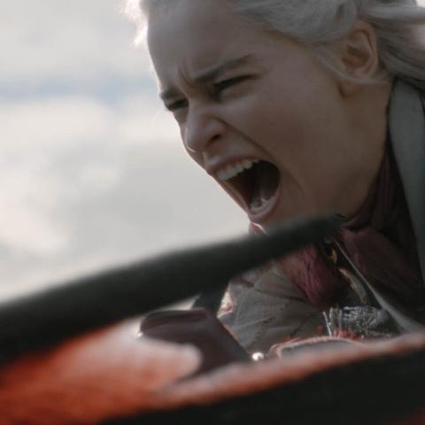 Daenerys Targaryen Juego de Tronos 8x04