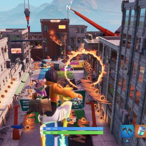 Domina el Centro en Fortnite