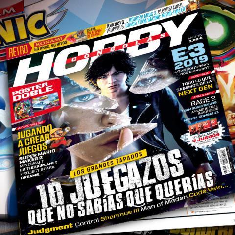 Hobby Consolas 335, a la venta con pósters de Borderlands 3 y Team Sonic Racing