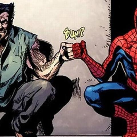 Lobezno y Spider-Man