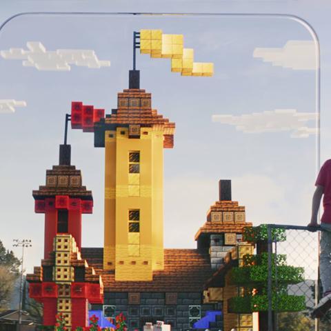 Minecraft Earth para móviles