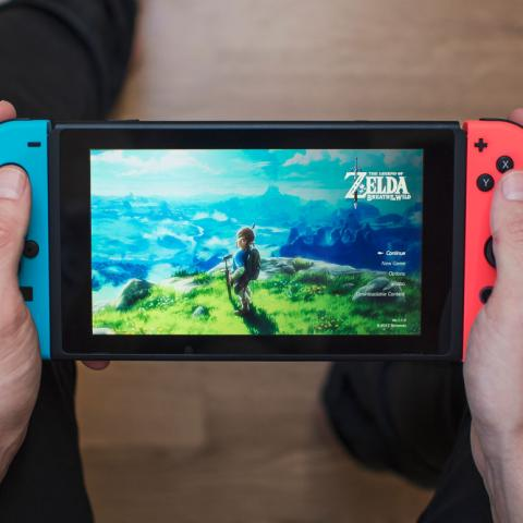 Nintendo Switch The Legend of Zelda Breath of the Wild