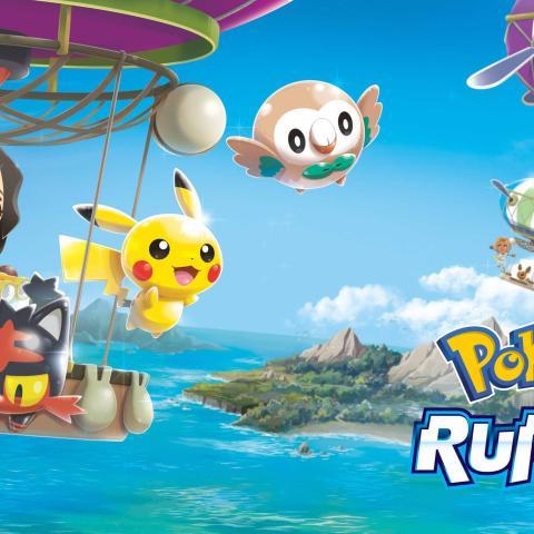 Pokémon Rumble Rush Principal Español