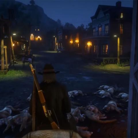 Red Dead Online glitch
