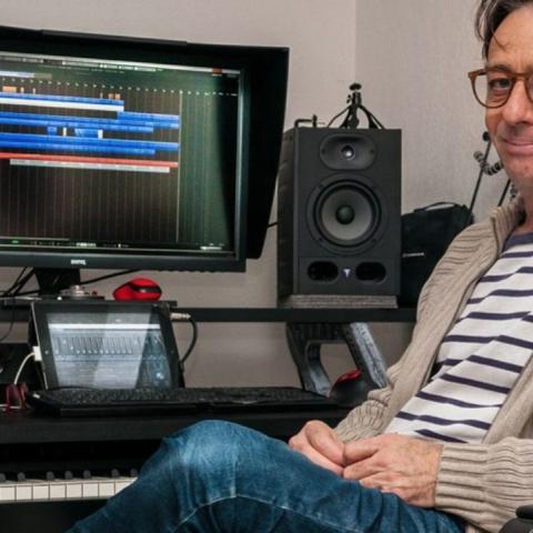 Remi Gazel, compositor de la música de Rayman