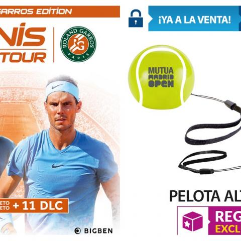 Tennis World Tour Roland Garros Edition  en GAME
