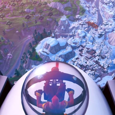 Truco dirigibles Fortnite