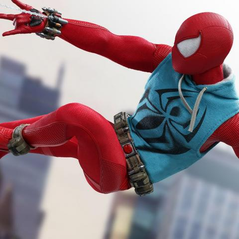 Figura de Hot Toys de Marvel's Spider-Man