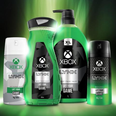 El nuevo gel de baño de Xbox