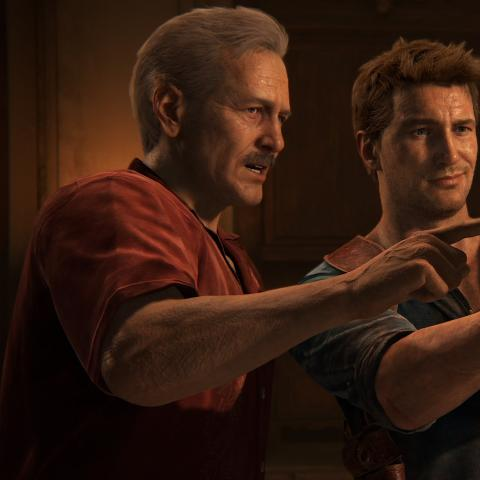 Película de Uncharted - El poster fan que coloca a Chris Hemsworth como Sully