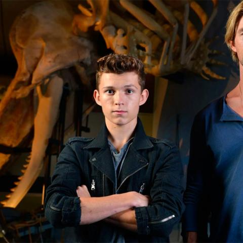 Tom Holland y Chris Hemsworth