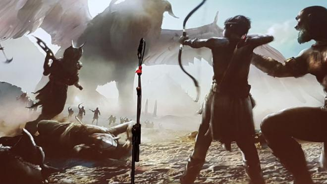 God of War PS4 Egipto