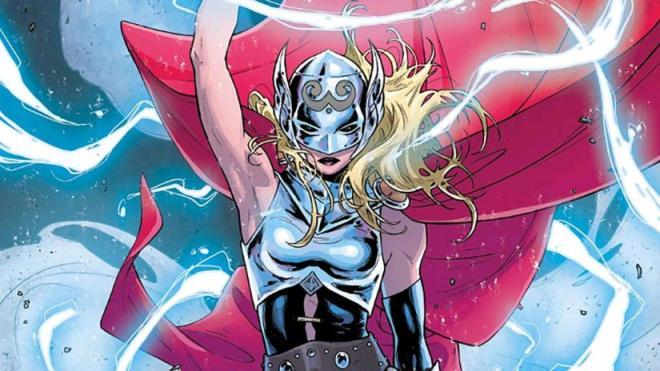 Jane Foster Thor Diosa del Trueno