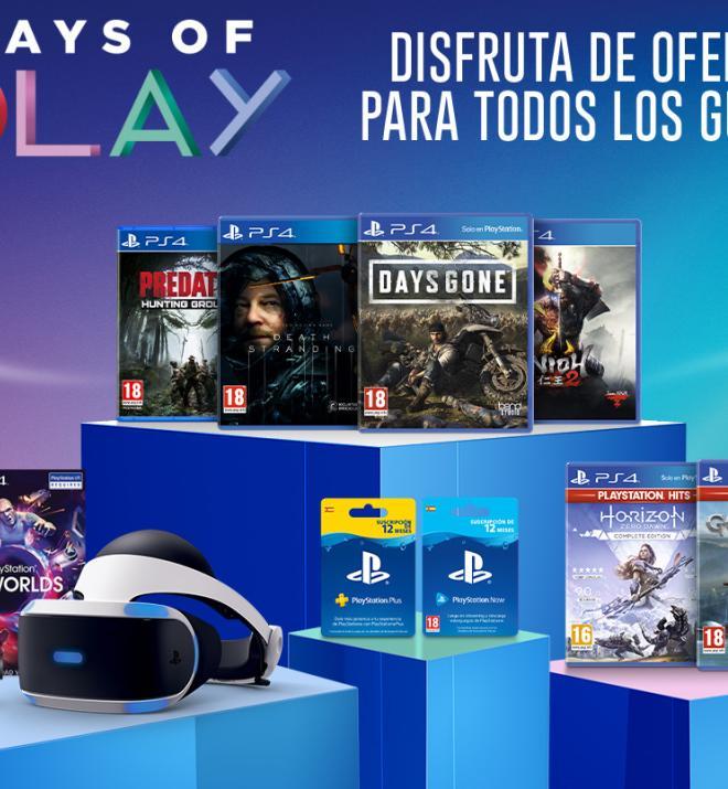 Days of Play ofertas juegos físicos