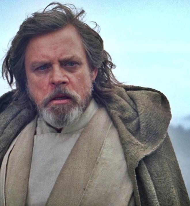 Luke Skywalker en Star Wars El despertar de la Fuerza
