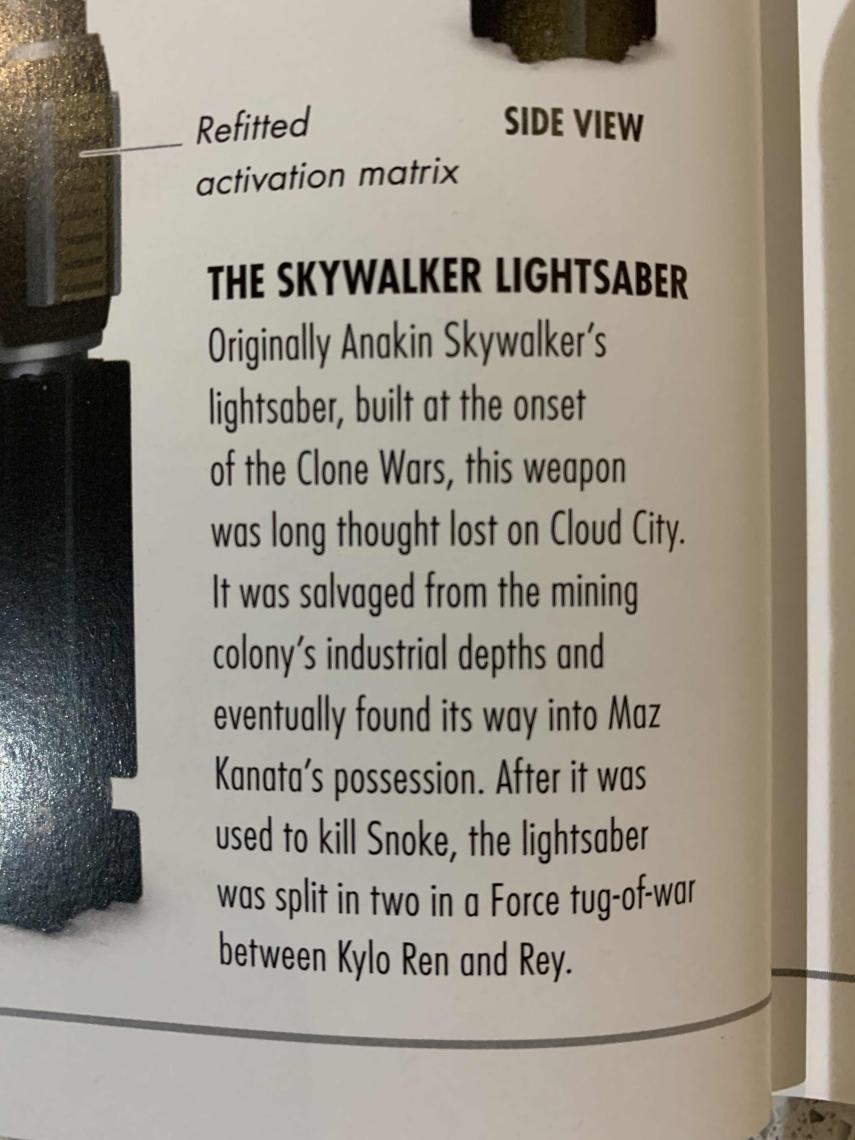 Guía visual el ascenso de Skywalker