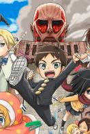 Ataque a los Titanes: Junior High (Anime) - Cartel