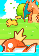 Caratula Pokemon Magikarp Jump