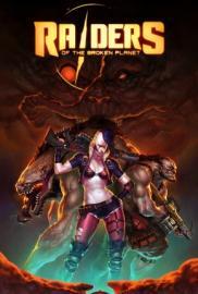 Raiders of the Broken Planet Portada