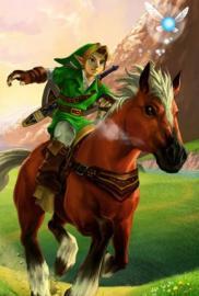 Zelda Ocarina of Time 3ds portada