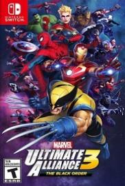 caratula Marvel Ultimate Alliance 3