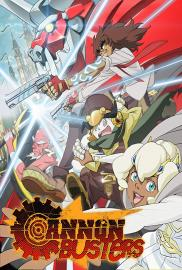 Cannon Busters - poster