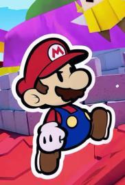 Paper Mario The Origami King Portada