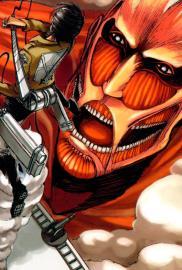 Ataque a los Titanes (Manga) - Cartel