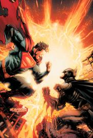 Injustice: Gods Among Us (Cómic) - Cartel