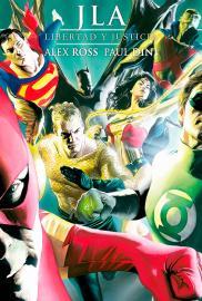 JLA: Libertad y Justicia (Cómic) - Cartel