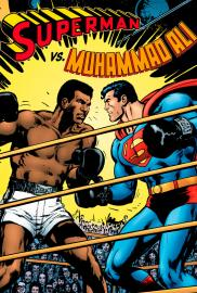 Superman contra Muhammad Ali (Cómic) - Cartel