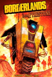 Borderlands: La caída de Fyrestone (Cómic) - Cartel