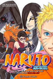 Naruto: Historia especial (Manga) - Cartel