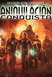 Aniquilación: Conquista (Cómic) - Cartel