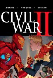 Civil War II (Cómic) - Cartel
